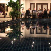 Phuket Cleanse Main Pool Dinner
