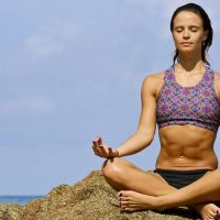 Meditation on the Rocks