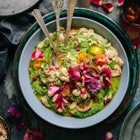Vegan and Vegetarian Salad