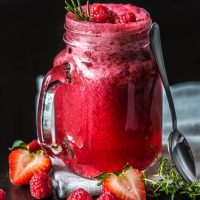 Strawberry Juice Cleansing Detox